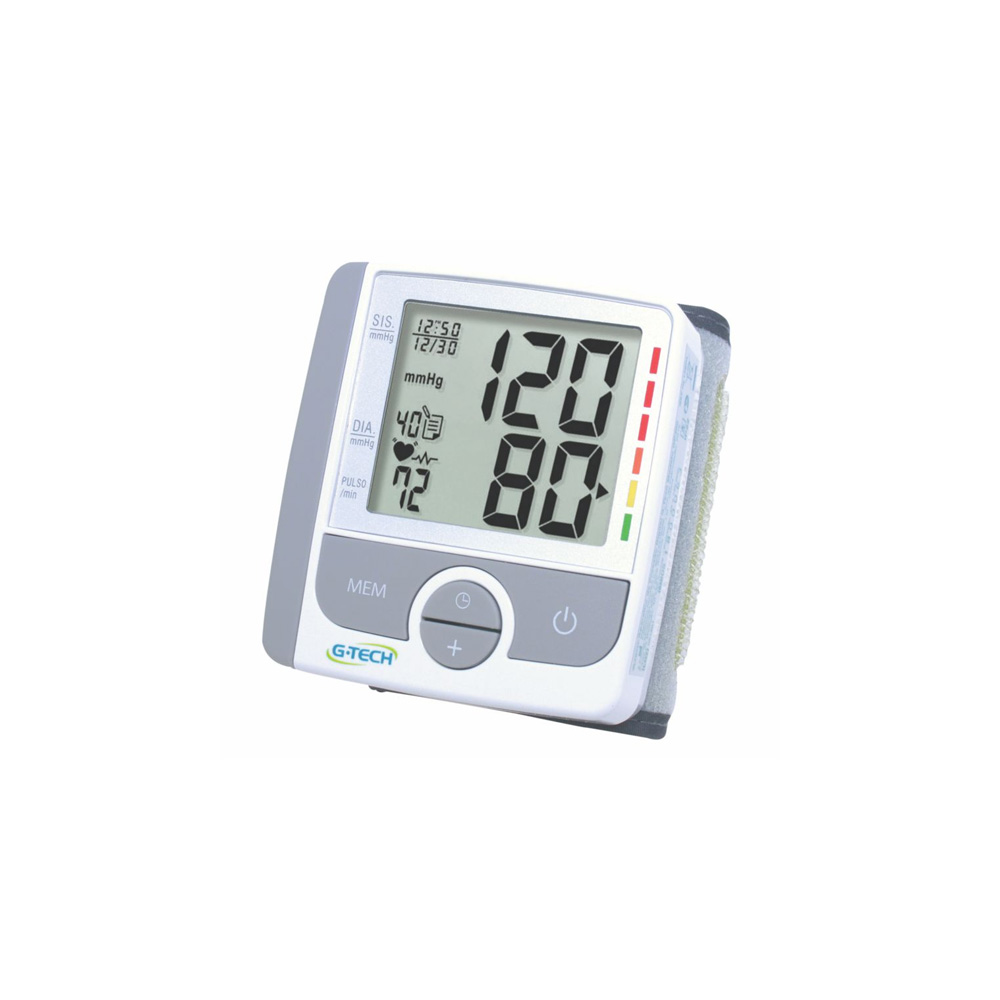 Aparelho de pressão digital de pulso GP300 G-Tech